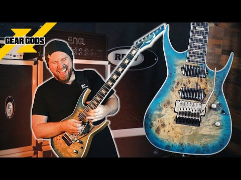 Let's Write A Song With The DEAN Exile Select Floyd 7 String Guitar! | GEAR GODS