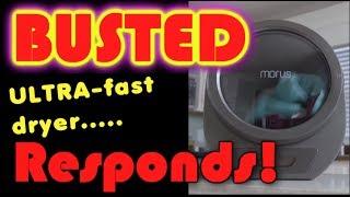 Busted 'Super-Dryer' responds!