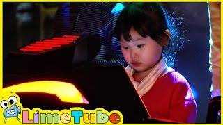 라임이의 브이센터에 가다!#2 로보트 태권브이 어린이 만화 영화 ❤︎ 뽀로로 장난감 LimeTube & Toys Play 라임튜브