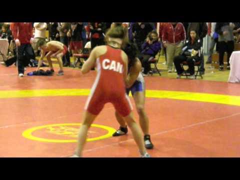 2010 Guelph Open: 51 kg Jade Parsons vs. Jennifer Nguyen