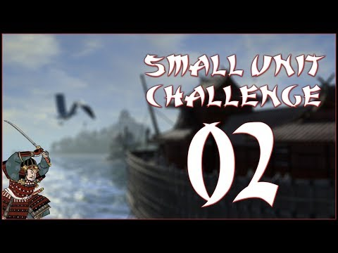 DEFENSIVE SIEGES - Mori (Challenge: Small Unit Size) - Total War: Shogun 2 - Ep.02!