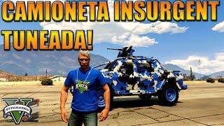 NUEVA Camioneta Insurgent TUNEADA + Remera GTA V Online