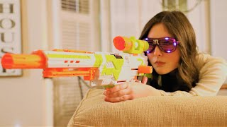 Nerf Gun War - Snipers vs Grizzly Gang