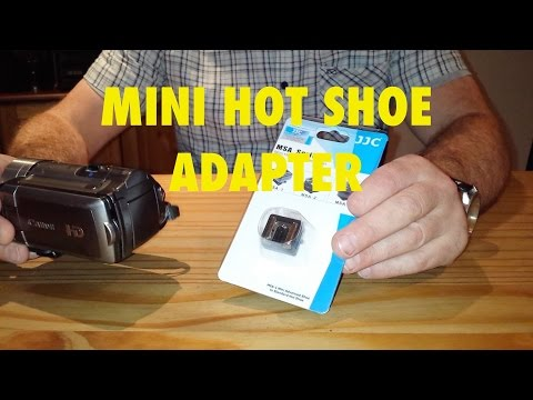Camera Hot Shoe Adapter for Canon Mini Hot Shoe