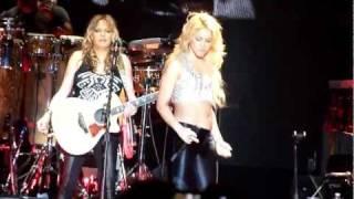 Shakira La Tortura Paris Bercy 14 Juni 2011HD