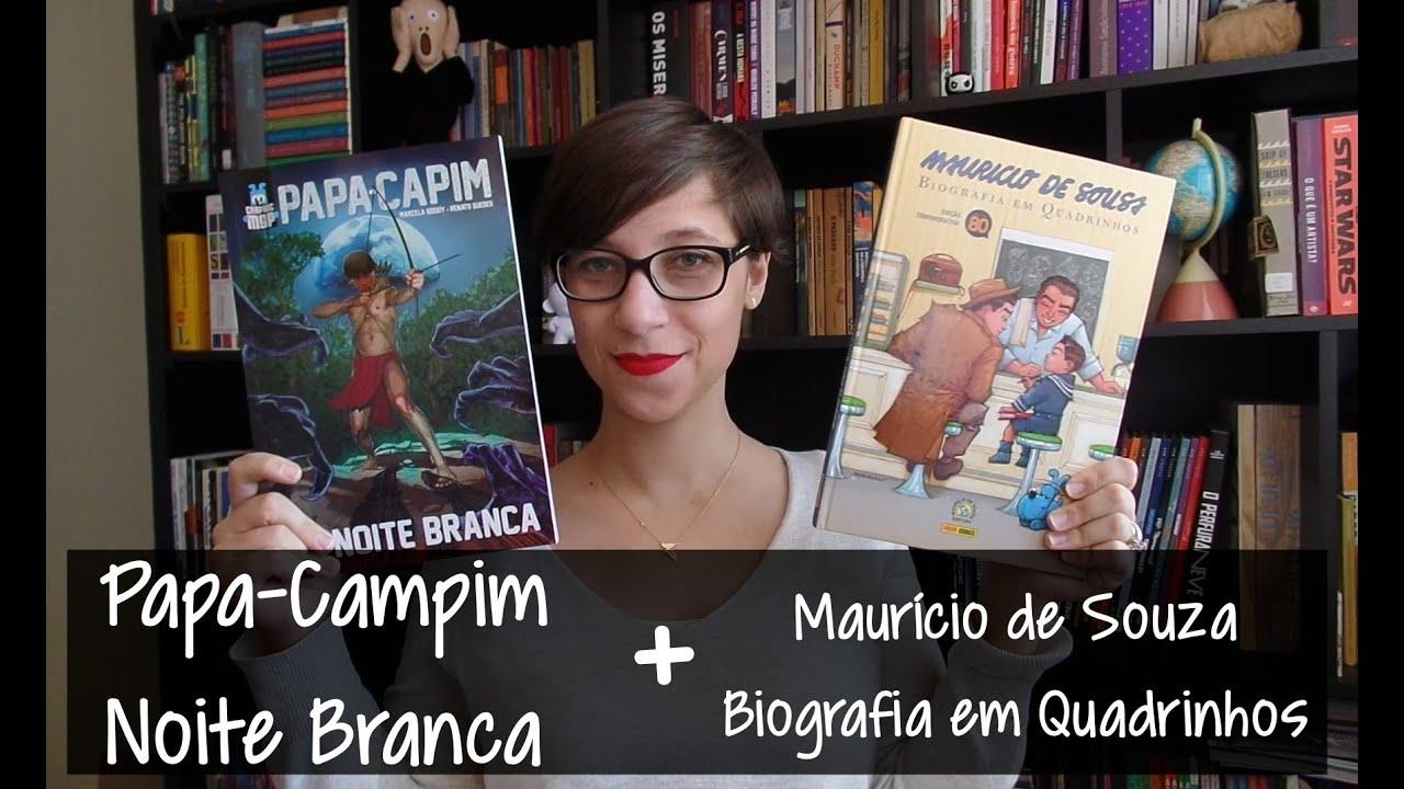 Noite Branca - Papa-Capim e Maurício de Souza: Biografia
