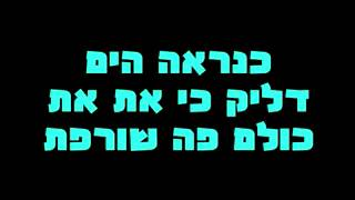 Gal Malka feat Static - Ba La Lirkod (Lyrics)    מילים)  גל מלכה מארח את סטטיק - בא לה לרקוד)