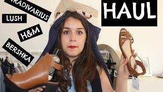 ¡SUPER HAUL de Clu! (H&M, Bershka, LUSH...