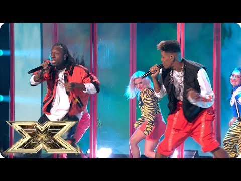 Pop! Misunderstood perform original song Chewing Gum | Live Shows Week 1 | The X Factor UK 2018