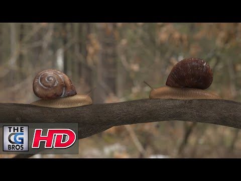"CGI & VFX Animated Short: ""Wintersnail""  - by The Wintersnail Team"