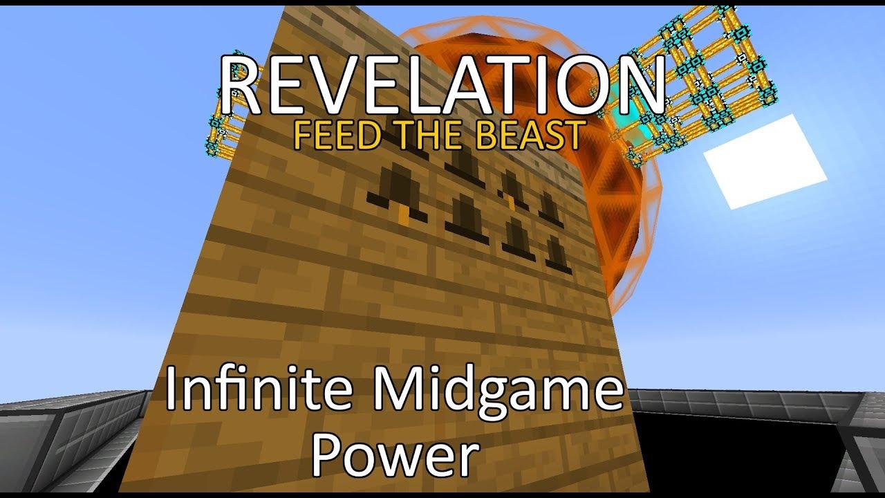 FTB Revelation - Insane Mid-Game Power Setup - INFINITE POWER!!!