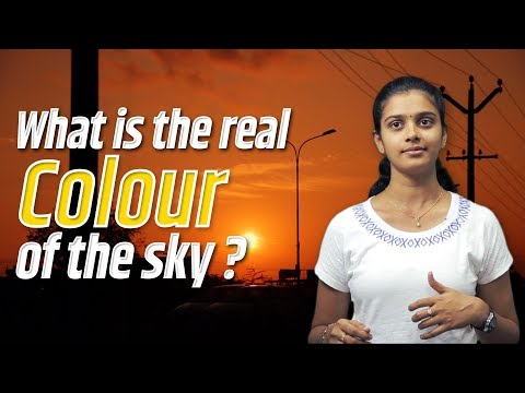 What is the real colour of the sky?