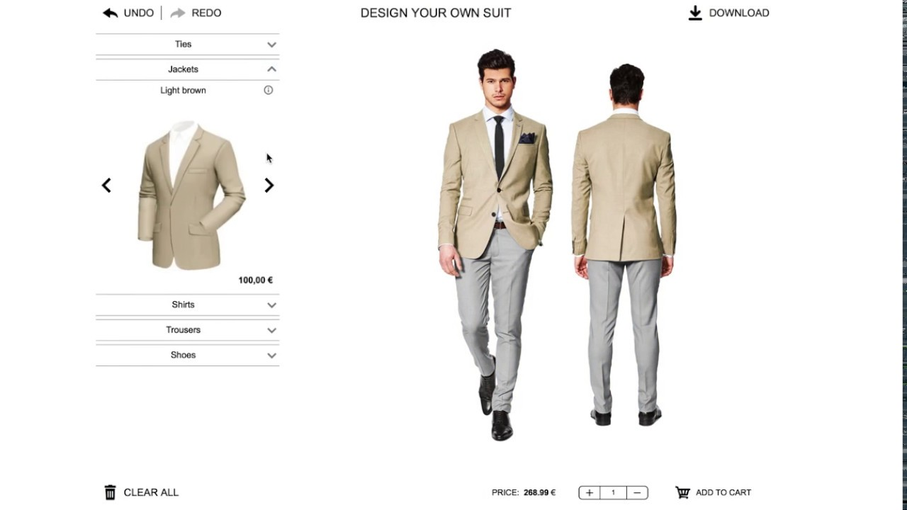 Prestashop Module - How to Sell Custom Suits Online - YouTube