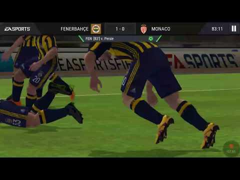 Fifa mobile fenerbahçe=2--0=monaco (biniş video)
