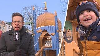 Neukölln: Ortstermin auf dem umstrittenen Ali-Baba-Spielplatz