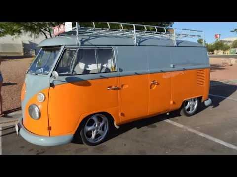 Tour A Custom VW Camper 1965 Cargo Van Conversion