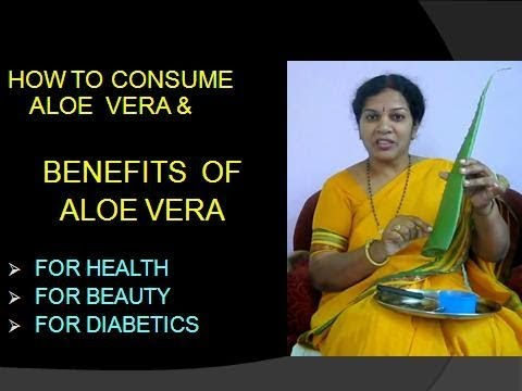 THE  BENEFITS OF ALOE VERA & HOW TO CONSUME IT