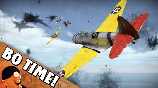 "War Thunder - TBD-1 Devastator ""Barrel of Fun"""