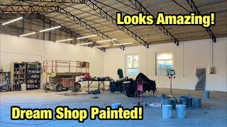building The New Kondor Buildz Dream Shop Part 37, Finally Painted