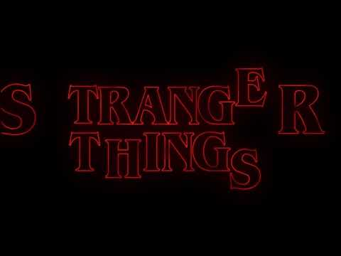 Stranger Things Title Intro sequence Remake || Adobe premiere pro
