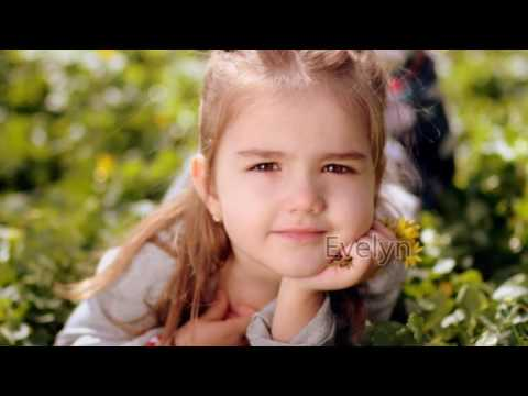 Baby Names English / 1 hour relaxing music / HD pictures