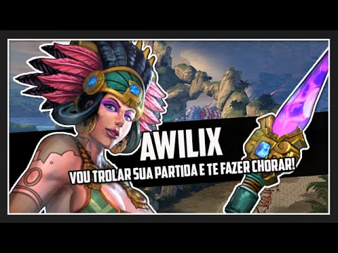SMITE BRASIL - AWILIX na JUNGLE trolando sem limites!