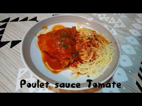 poulet-sauce-tomate-pour-famille-nombreuse-🍗👌😋