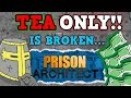Prison Architect Is A Perfectly Balanced Game With No Exploits - The Tea Only Challenge