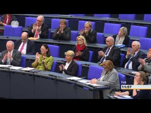 Erste Rede von Brigitte Zypries als Bundesministerin für Wirtschaft und Energie im Bundestag