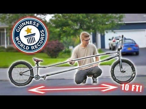 THE WORLD'S LONGEST BMX BIKE!