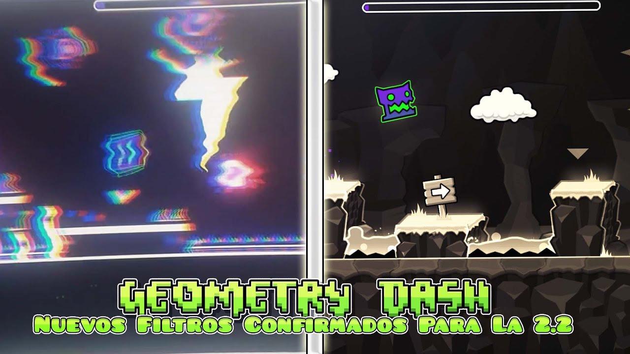 Nuevo Video De RobTop - Filtros Para Niveles Nuevas En Geometry Dash 2.2!