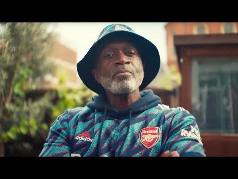 Meet Len.  Len we are all |  Introducing the adidas x Arsenal 2021/22 third kit