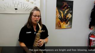 The Vandoren Saxophone Mouthpiece Range