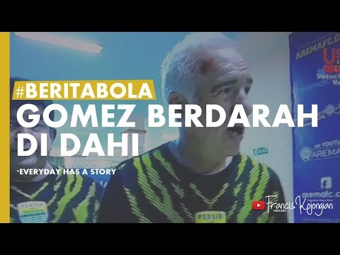 DETIK DETIK Kericuhan laga Arema FC vs PERSIB, Mario Gomez Terluka (15/04/2018) Go-Jek Liga 1 2018