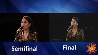 Germany - S!sters - Sister - semifinal vs Final - Eurovision 2019