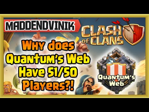 Why Does Quantum's Web Have 51/50 Players? EXPLANATION!!!!