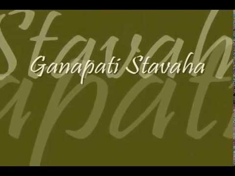 Ganesh Stotram | Ganapati Stavaha (Ajam Nirvikalpam) | with text