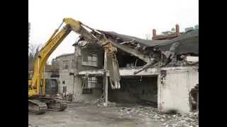 Demolition of 401 Leberton Ottawa