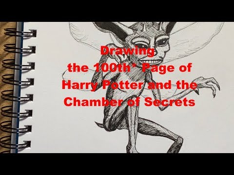 100th*-page-drawing-challenge---harry-potter-and-the-chamber-of-secrets
