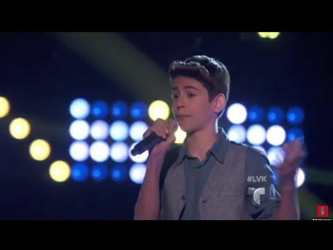 La Voz Kids | Angel Lebron Canta 'Diez Mil Maneras' En La Voz Kids
