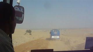 Indo Pak Border Road To Tanot Mata  Temple Through Thar Desert - Jaisalmer Tourism