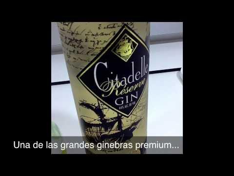 Gin Tonic de Citadelle Reserve con Tónica Britvic