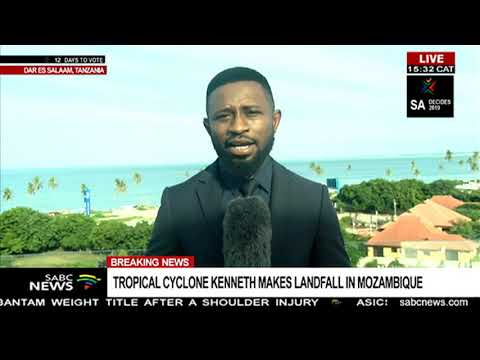 UPDATE: Cyclone Kenneth approaches Tanzania - Daniel Kijo