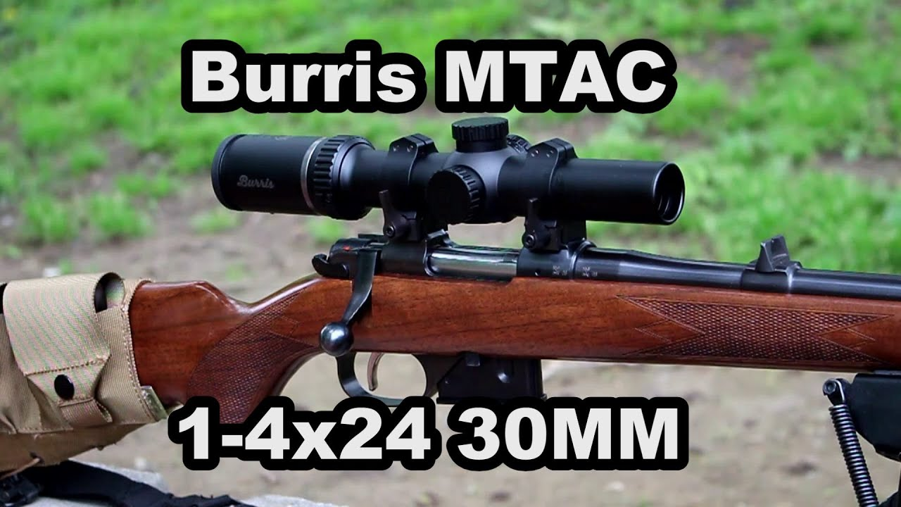 Burris MTAC 1-4x24 30mm LPVO Review