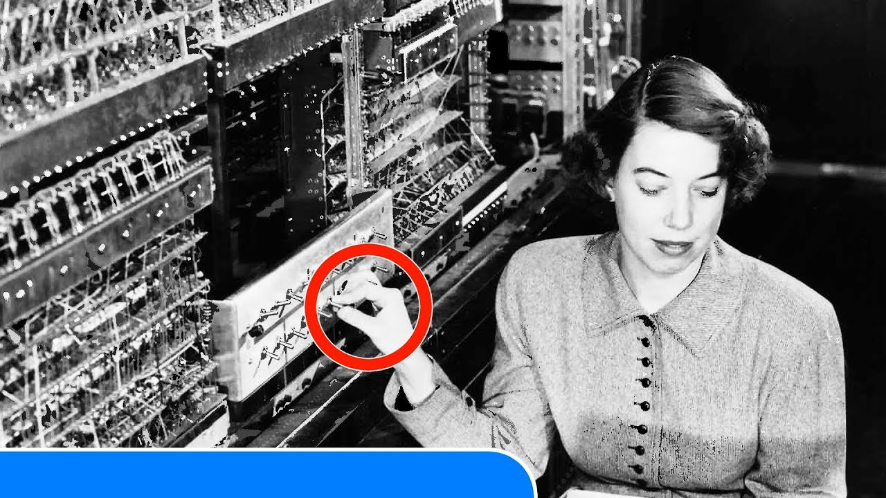 25 Interesting Historical Photos Of Old Computers 1950S -4951