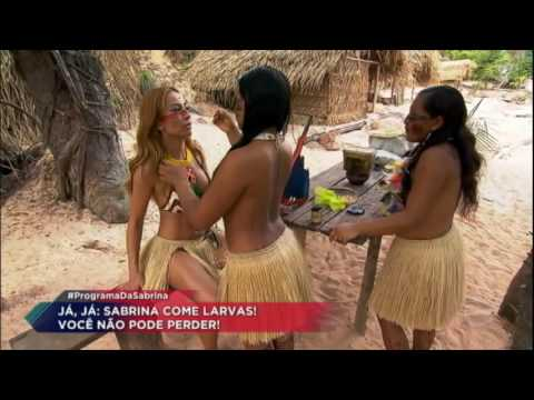 Sabrina visita Floresta Amazônica e se transforma em índia