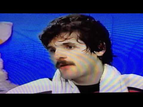 Ron Hextall interview,1987 game 7 stanley cup final