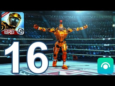 Real Steel World Robot Boxing - Gameplay Walkthrough Part 16 - World Robot Boxing Gold