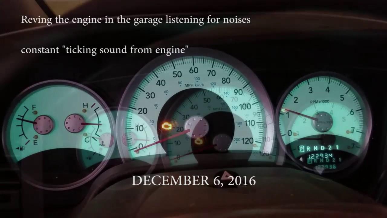 2007 dodge durango oil pressure sensor light problem [ 1280 x 720 Pixel ]