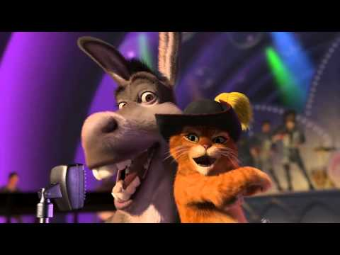 Donkey and Puss in Boots - Livin' La Vida Loca
